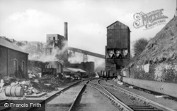 Bargoed, Colliery c.1955