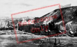 Bargoed, Colliery From Gilfach c.1955