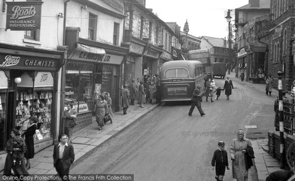 Photo of Bargoed, Hanbury Road 1951