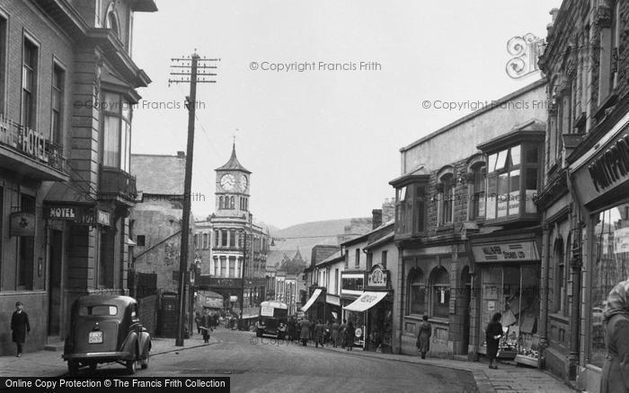 Bargoed, Hanbury Road c.1955