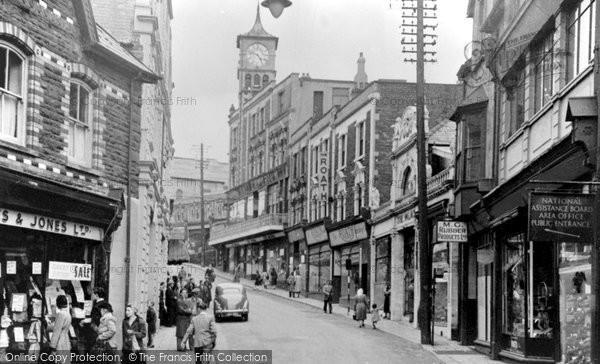 Photo of Bargoed, High Street 1951