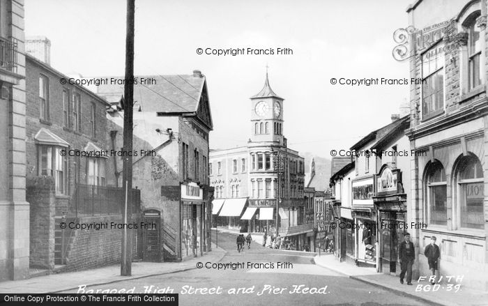 Photo of Bargoed, High Street And Pier Head c.1955