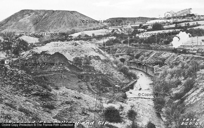 Photo of Bargoed, The Collierry And Tip c.1955