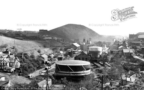 Photo of Bargoed, The Colliery And Aberbargoed Tip c.1955