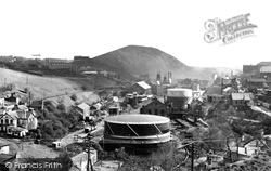 Bargoed, The Colliery And Aberbargoed Tip c.1955
