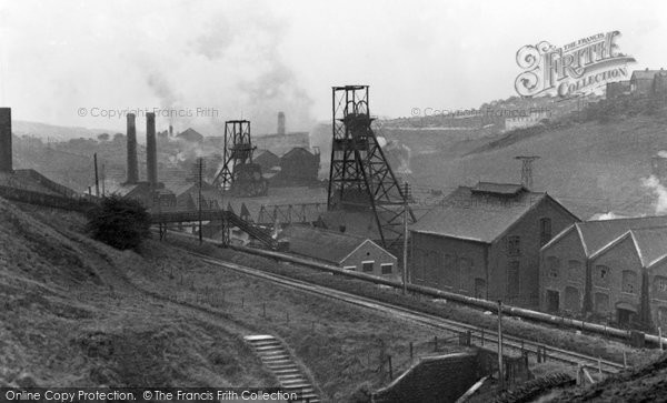 Photo of Bargoed, The Colliery c.1950