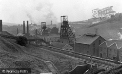Bargoed, The Colliery c.1950