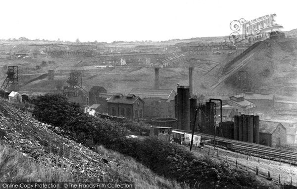 Photo of Bargoed, The Colliery c.1955