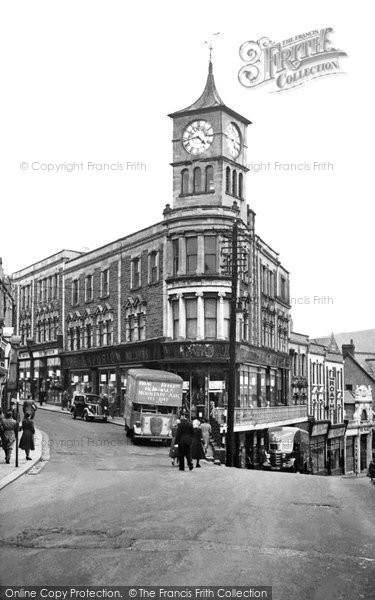 Photo of Bargoed, The Emporium c.1955
