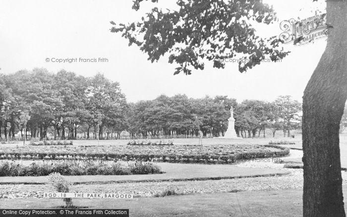 Photo of Bargoed, The Park c.1955