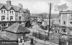 Bargoed, The Square c.1955