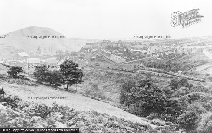 Photo of Bargoed, The Valley c.1955