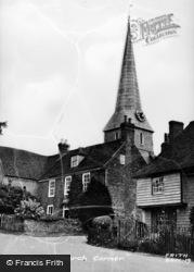 Barham, Church Corner c.1955