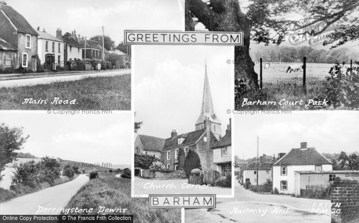Photo of Barham, Composite c.1955