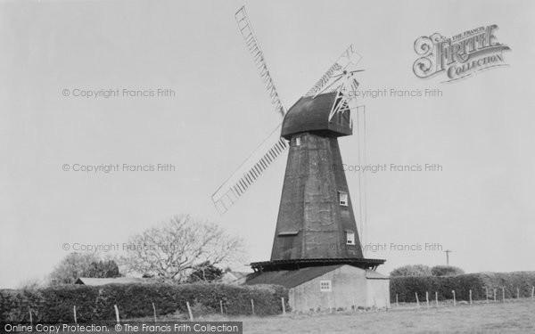 Photo of Barham, Mill c.1955