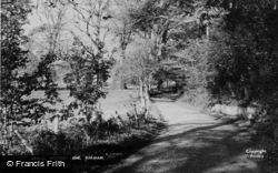 Barham, Rectory Lane c.1955
