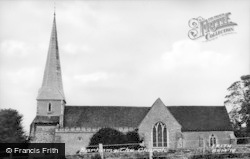 Barham, St John The Baptist Church c.1955