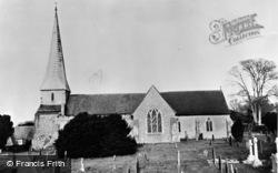 Barham, St John The Baptist Church c.1955