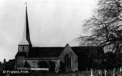 Barham, St John The Baptist Church c.1965
