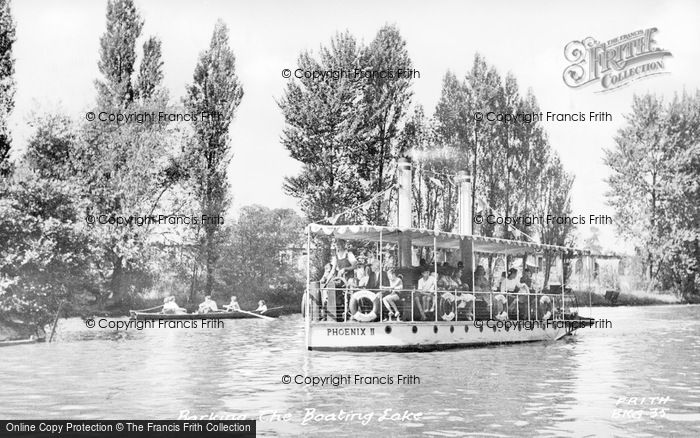 Photo of Barking, Boating Lake c.1955