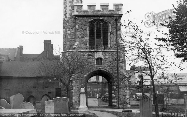 Photo of Barking, Curfew Tower c.1955