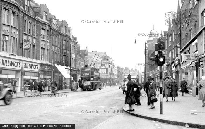 Photo of Barking, East Street c1955