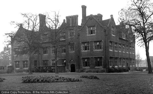 Photo of Barking, Eastbury House c.1955