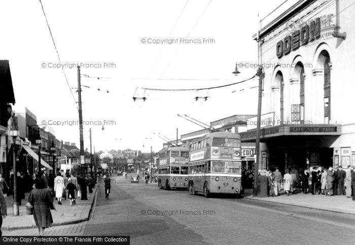 Barking, Longbridge Road c.1950