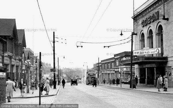 Photo of Barking, Longbridge Road c1950