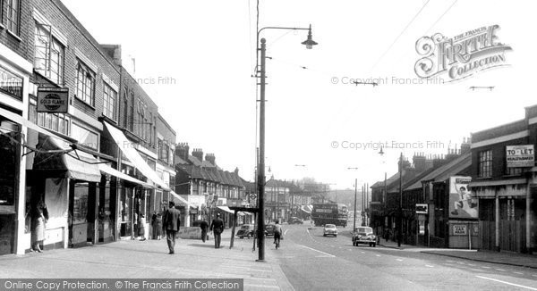 Photo of Barking, Longbridge Road c.1955