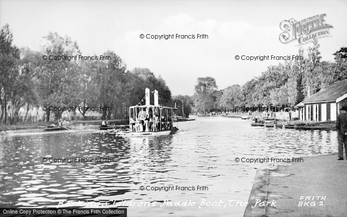 Photo of Barking, Park, Children's Paddle Boat c.1950
