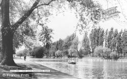 Barking, Park, The Lake c.1965