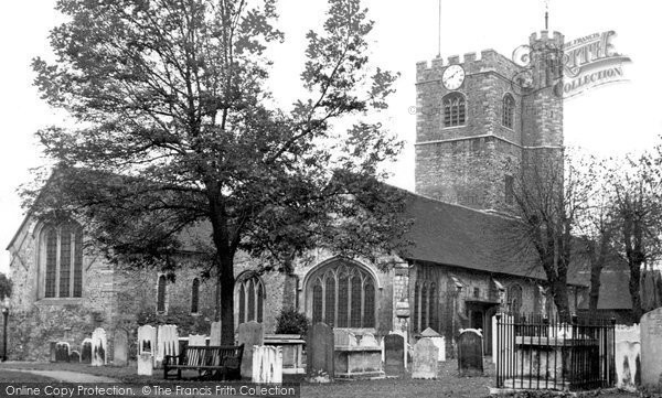 Photo of Barking, St Margaret's Church c1955