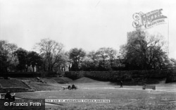 Barking, The Abbey Ruins And St Margaret's Church c.1960