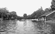 Barking, the Lake c1955