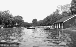 Barking, The Lake c.1955