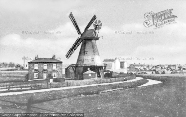 Photo of Barking, Wellington Mill c.1900