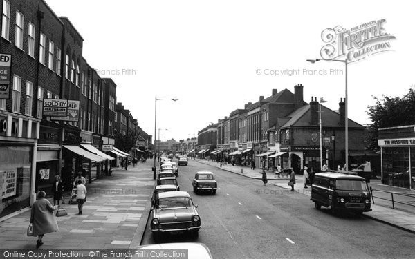 Photo of Barkingside, High Street 1968
