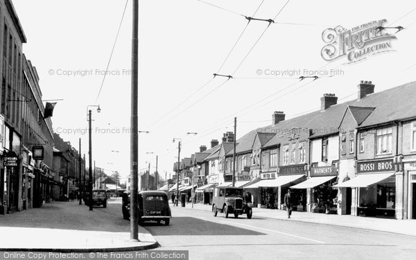 Photo of Barkingside, High Street c.1955
