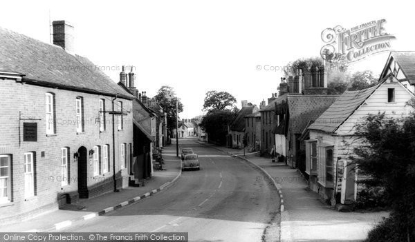 Photo of Barkway, High Street c.1965