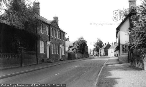 Photo of Barkway, Main Street c1965