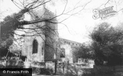 Barkway, St Mary Magdalene Church c.1965