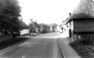 Barkway, Thatched Cottages c1965