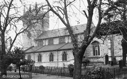 Barlborough, St James The Greater Church c.1955