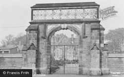 Barlborough, The Memorial Gate c.1955