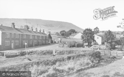 Barley, Looking Towards Pendle Hill c.1950