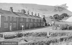 Barley, Lthe Village And Pendle Hill c.1950