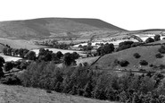 Barley, The Village And Pendle Hill c.1960