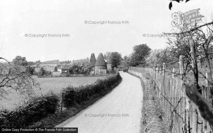 Photo of Barming, Bell Farm c.1955