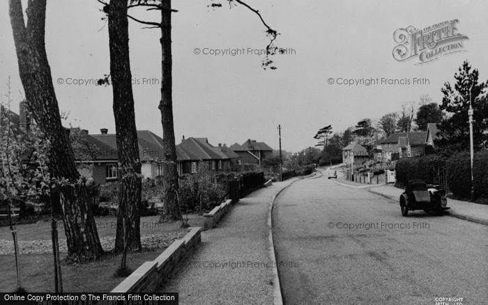 Photo of Barming, Heath Road c.1955